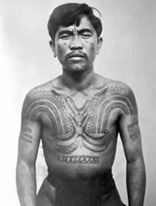 Ancient Filipino Tribal Tattoos